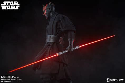 star wars darth maul 0785195890 at last he will have revenge sideshow reveals massive new darth maul premium figure the exclu