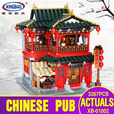 Xingbao 01002 The Beautiful Tavern Xingbao 01002 3267pcs Moc Creative Series The Beautiful