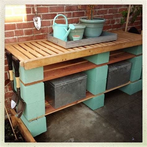 inexpensive potting bench diy potting bench garden pinterest bench gardens