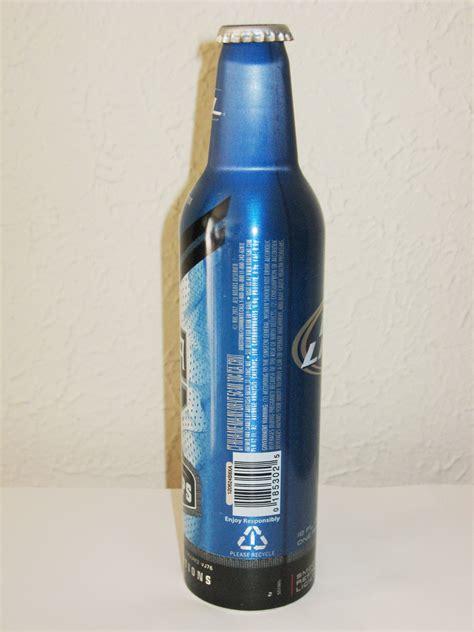 bud light aluminum bottles adm anthony d morrow 187 for sale 187 bud light la kings