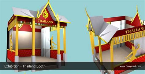 booth design thailand booth stage design harry martawijaya