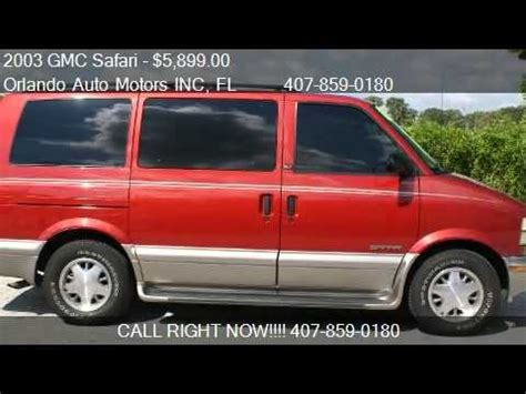 auto repair manual free download 2000 gmc safari windshield wipe control 2003 gmc safari base rwd 3dr minivan for sale in orlando fl youtube