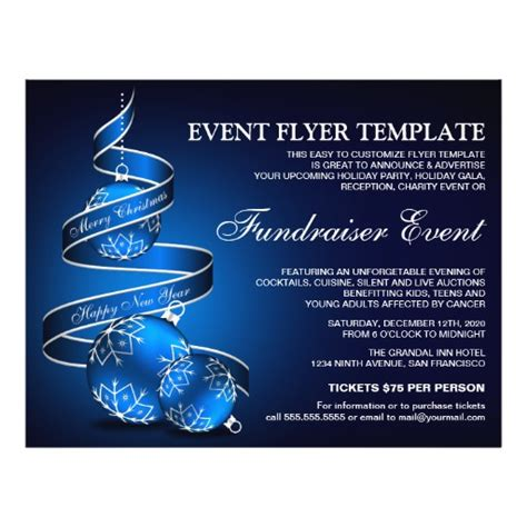 charity event flyer template fundraiser event flyer template zazzle