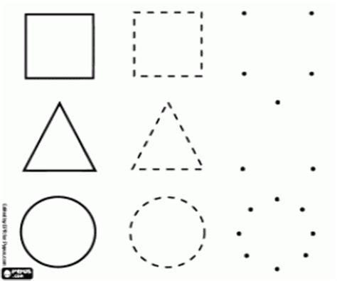figuras geometricas simples juegos de formas figuras para colorear imprimir y pintar