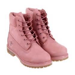 Timberland 6 inch premium boot women in pink lyst