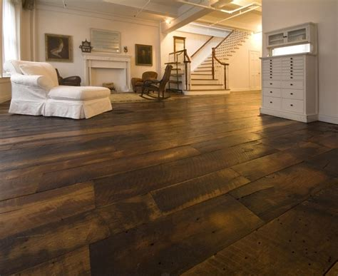 Wide Plank Barn Wood Laminate Flooring