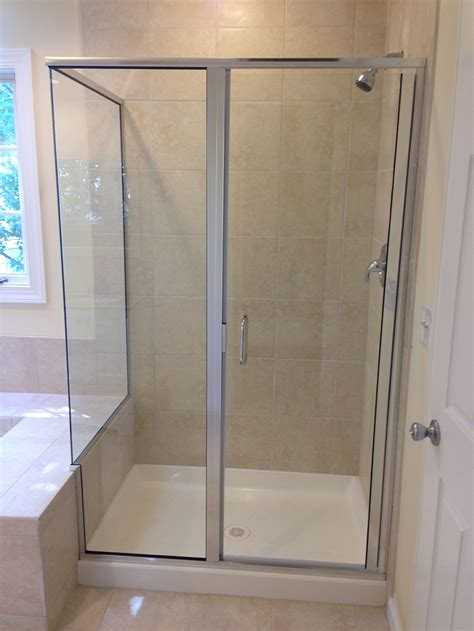 Custom Glass Door Custom Glass Shower Doors Enclosures Gallery Montgomery Co Md Frameless And Framed Doors