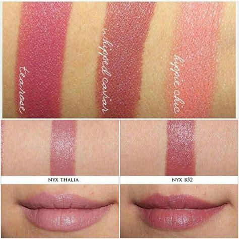 Nyx Caviar nyx lipstick thalia b52 vs nyx matte lipstick