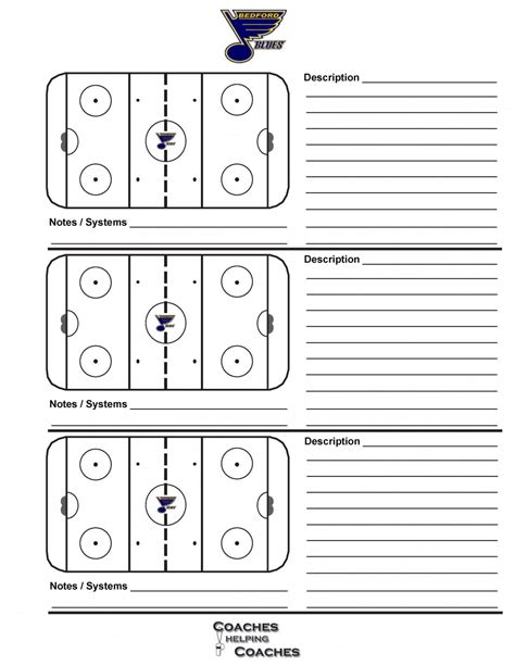 blank hockey practice plan template hockey practice plan template plan template