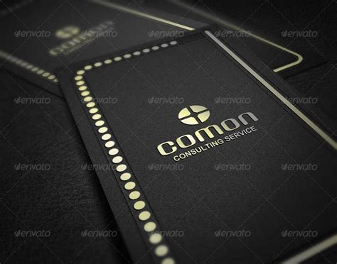 Vip Business Card Template by Vip Business Card By Axnorpix Graphicriver