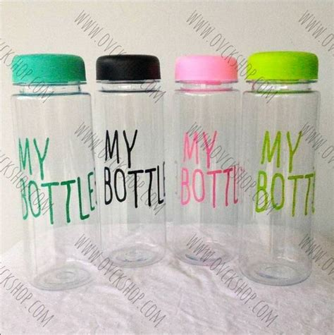 Soda Colour Color Bottle My Bottle Botol Minum Soda Bmw Promo Ready Limited My Bottle Color 85 000 Include Pouch
