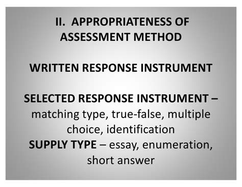 Enumeration Essay by 58519966 Review Of Principles Of High Quality Assessment