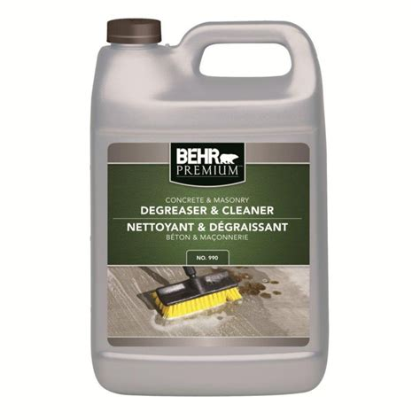 behr concrete masonry degreaser cleaner the home