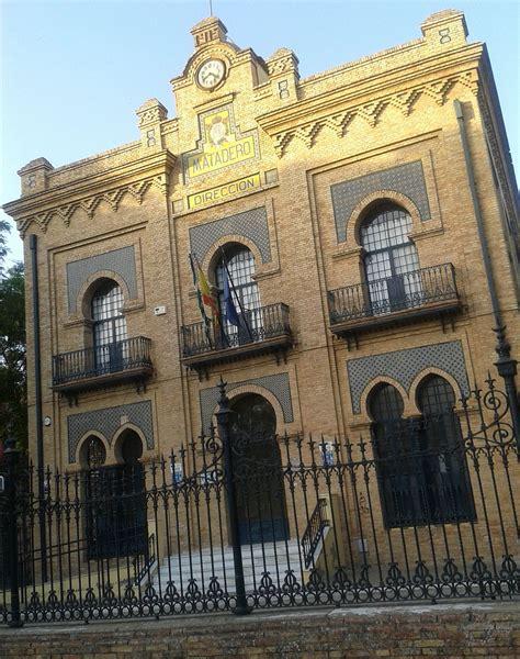 Arquitectura Sevilla #1: 1200px-Pabell%C3%B3n_de_Direcci%C3%B3n_del_antiguo_matadero_de_Sevilla.jpg