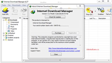 download idm full version terbaru tanpa registrasi video cara install idm terbaru 6 27 build 3 tanpa registrasi