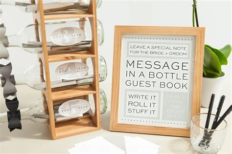 Design My Backyard Check Out This Diy Message In A Bottle Guest Book