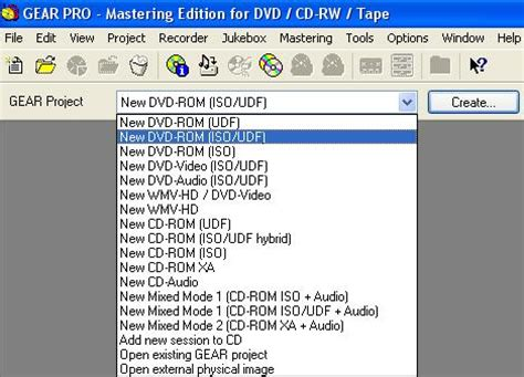 cd format udf iso how to guide create dvd roms gear software multimedia