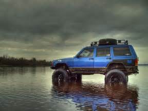 lifted blue xj jeep i want jeep club