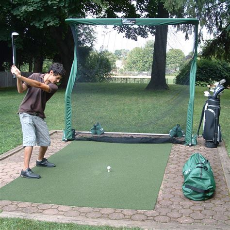 golfing nets for a backyard net return pro continuous practice golf trainer the