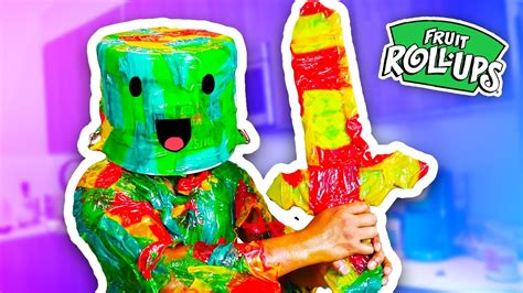 u fruity diy how to make fruit roll up armor