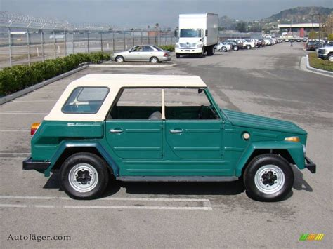 1974 volkswagen thing 1974 volkswagen thing type 181 in green 624797 auto