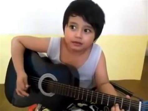 tutorial gitar firman kehilangan firman kehilangan cover anak kecil lucu banget youtube