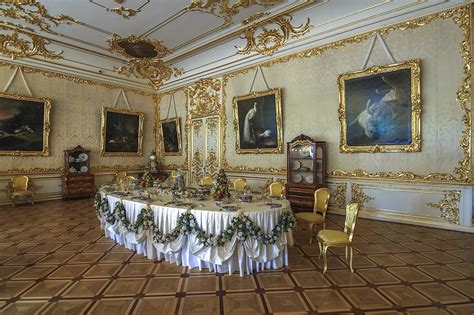 Green Dining Room Catherine Palace The Catherine Palace A Masterpiece Of Baroque 183 Russia