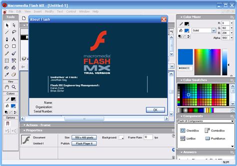 tutorial flash mx 2004 a nostalgic rummage through the history of flash