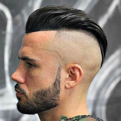 long hair bacl bald front hairstyles 25 barbershop haircuts