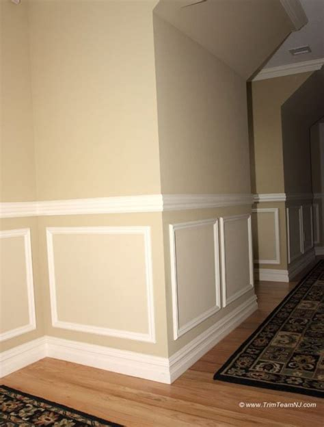 Camouflage Home Decor by 118 Shadow Boxes And Chair Molding On Hallway Westfield