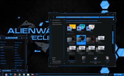 eclipse theme blue alienware eclipse pure blue win 8 mr blade designs