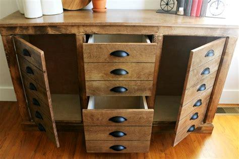 faux drawer modern farmhouse dresser cabinet