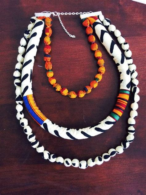 ankara fabric necklace 161 best images about necklaces on pinterest rope