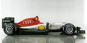 how an audi formula one car might look
