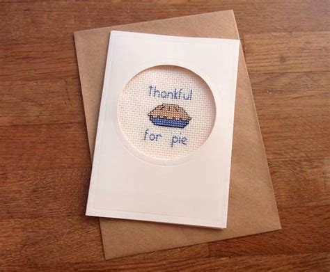 cross stitch greeting card templates how to make a cross stitch card for thanksgiving