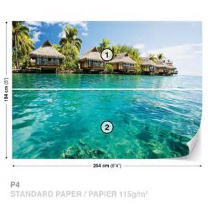 beach tropical wall mural photo wallpaper 224dk ebay wall mural beach tropical xxl photo wallpaper 225dc ebay