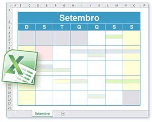 Calendario Xls Modelo Calend 225 Excel Calend 225 Para Imprimir