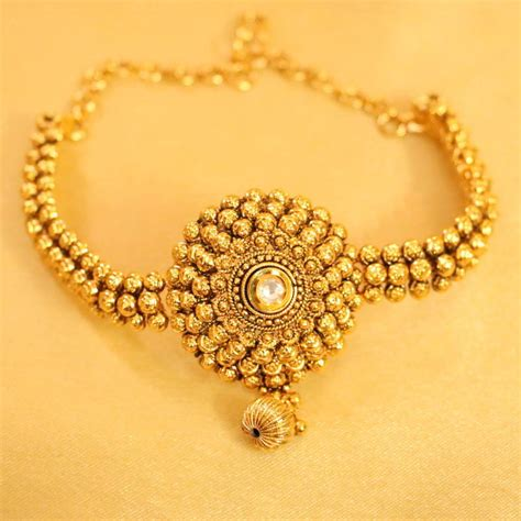 Antique Jewellery Bajuband buy antique gold kundan bajuband