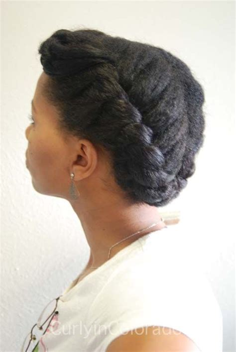 protective hairstyles pinterest protective style flat twist updo natural hair pinterest