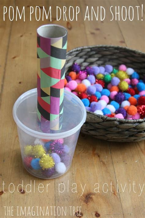 Pom Pom Drop by Pom Pom Drop And Shoot Toddler Play Toys Motor