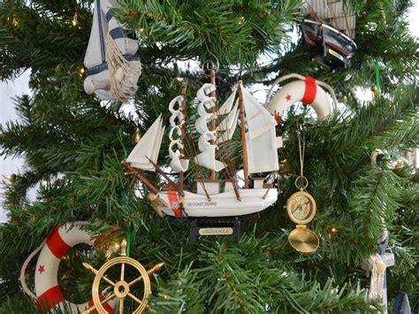 wholesale uscg eagle model ship nautical christmas tree
