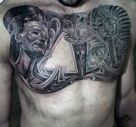 egyptian tattoo on chest 60 egyptian tattoos for men ancient egypt design ideas