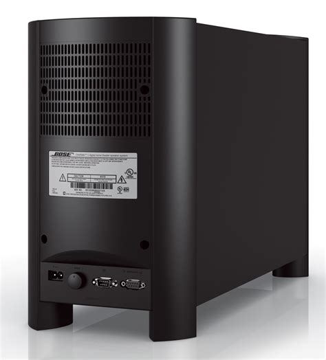 bose recalls dual voltage cinemate ii home theater speaker