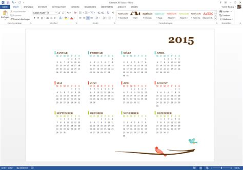 Word Vorlage Th Köln Kalender 2015 Vorlage F 252 R Microsoft Word Updated