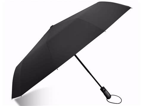 Terbaik Senter Uv 9 Led payung lipat buka tutup otomatis black jakartanotebook
