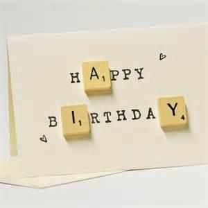 happy birthday scrabble card folksy