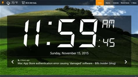 alarm clock software   windows pc