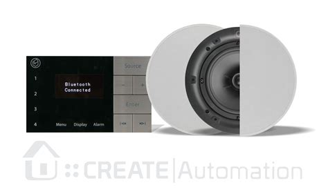 bathroom ceiling speaker system systemline e100 ipod dab radio dock create automation