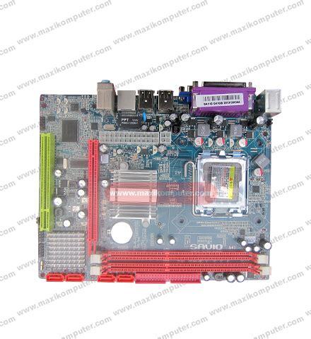 Motherboard Savio G41 Ddr3 Lga 775 Berkualitas mainboard savio g41d3lm socket lga 775 ddr3