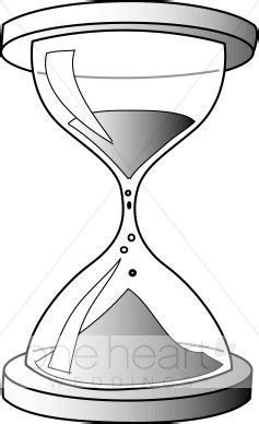 Hourglass Clipart   Wedding Decorations Clipart